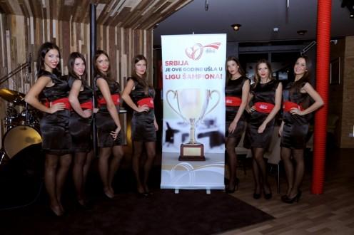 U Petak 01 Novembra POSH&media je organizovala party za Coca Cola Hellenic