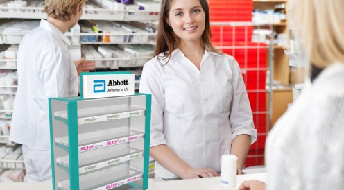 Branding of pharmacies for Abbott Company