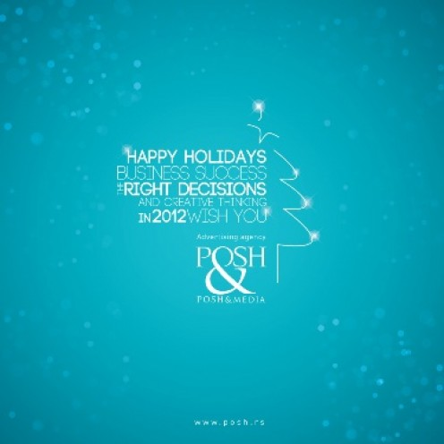 Happy holidays :) POSH&media